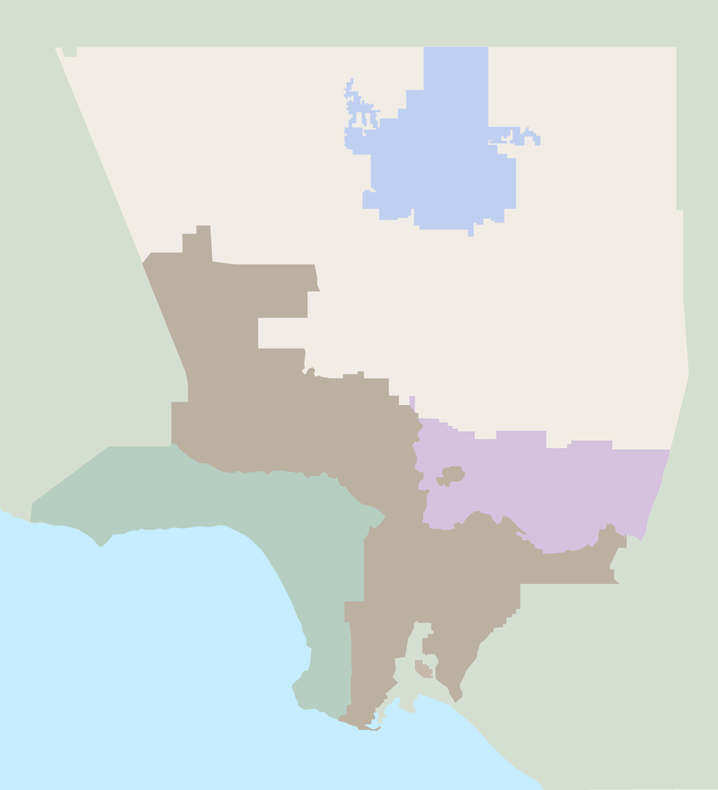 Other Districts Map